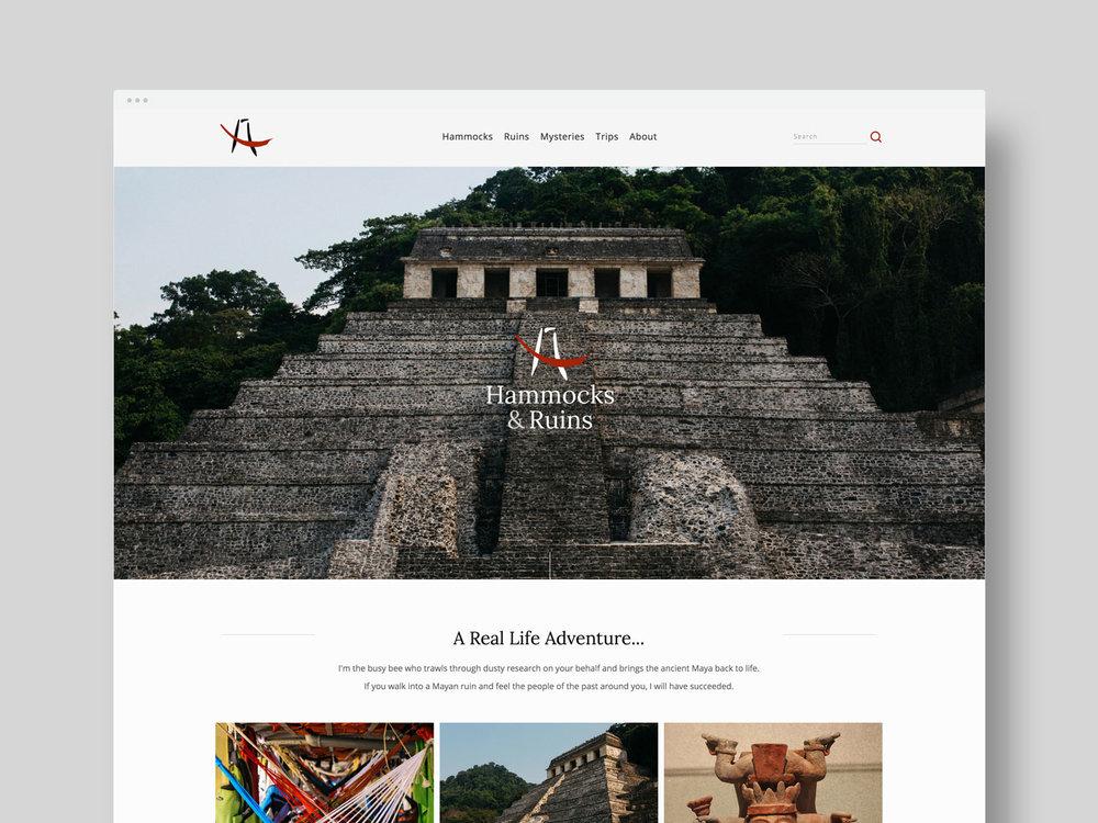 Web Design / Logo Design / Photography     Hammocks & Ruins