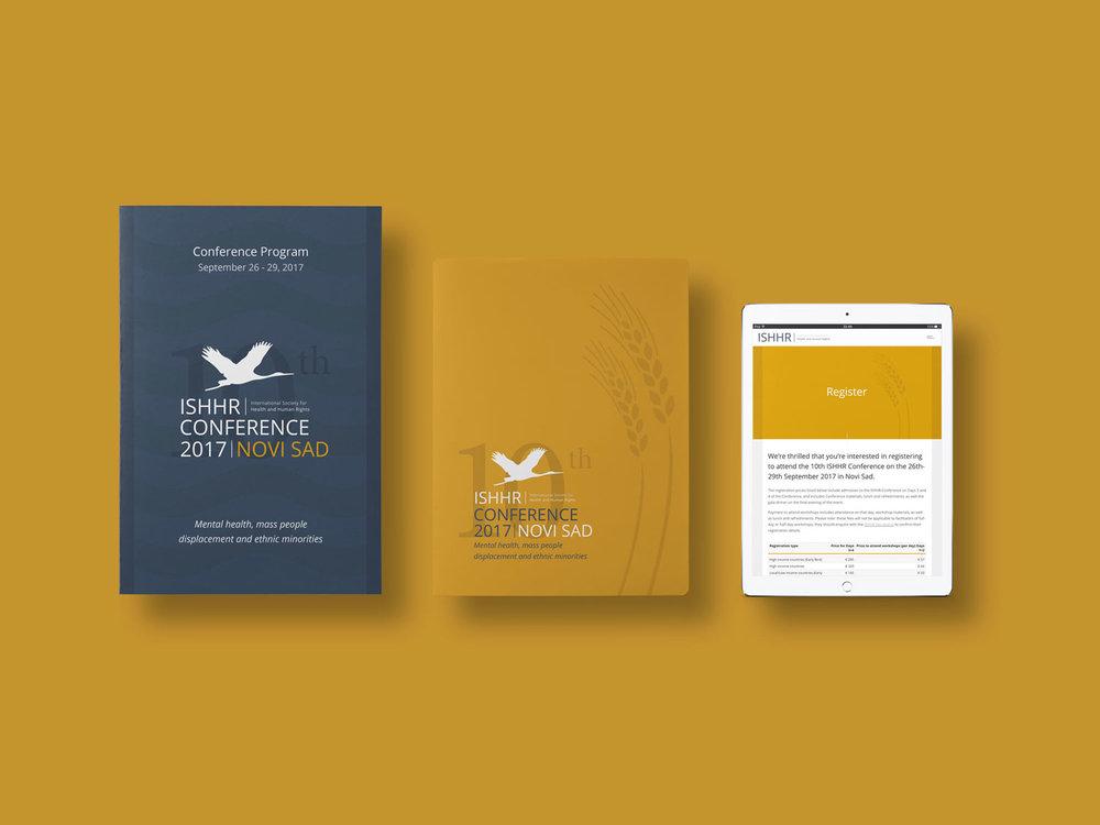 Brand Identity / Web Design / Print Design     ISHHR