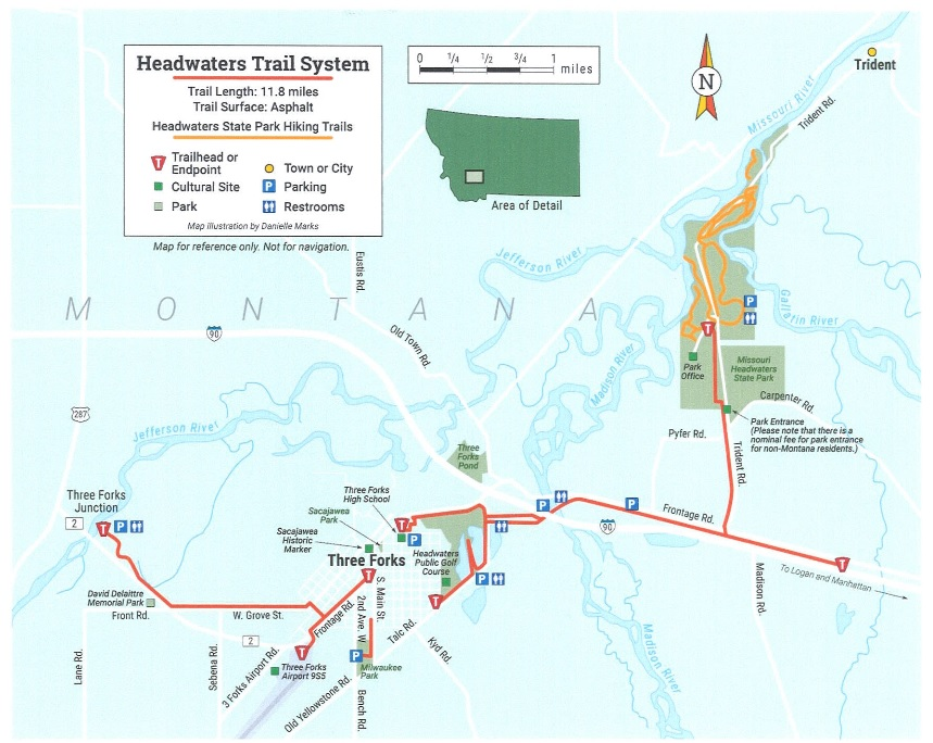 Headwaters Trails Map
