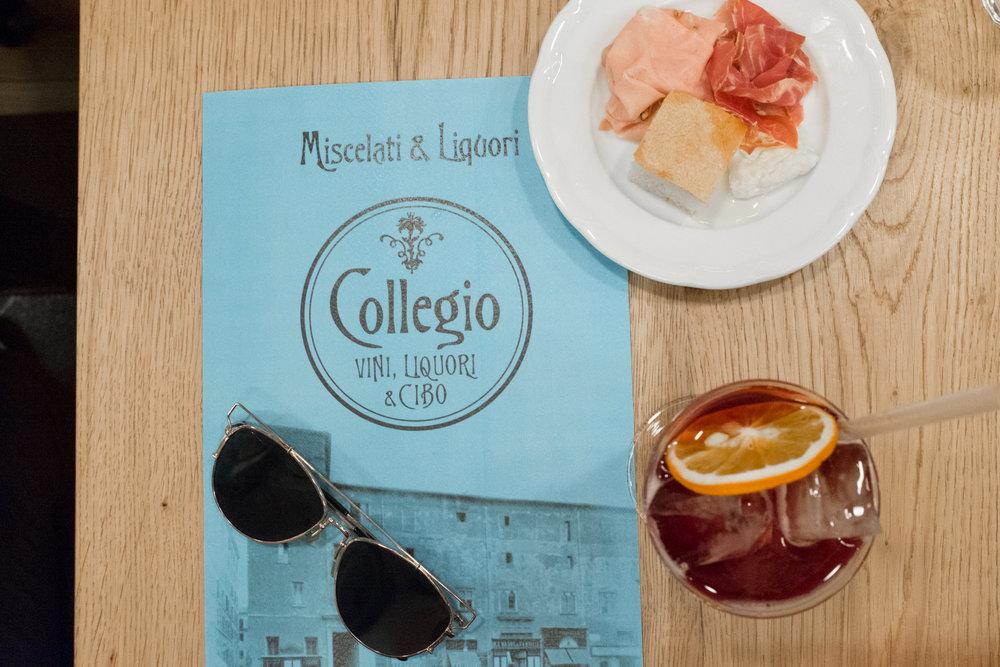Collegio - Vini, Liquori & Cibo