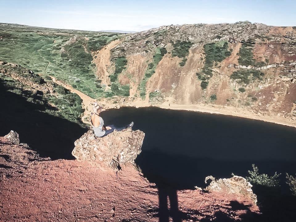 Kerið Volcanic Crater