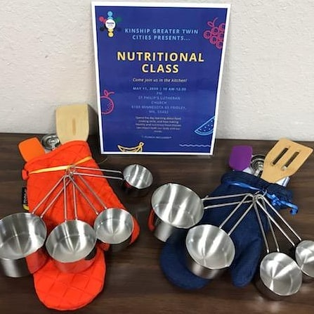 Attention Kinship: come to our nutritional event, led by nutritionist (and Mentor!) Emma! You will cook your lunch and take home your own kitchen items! See the link in our profile for more information and other upcoming events.