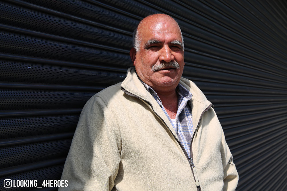 """I want peace in the world, I want the wars to end and everyone to respect each other."" - Ahmed, 60 years old"