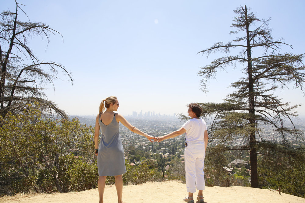 Hiking the Griffith Observatory, Los Angeles