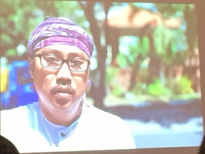 Scientist-Activist helping clean up the rivers of the Surabaya region of Indonesia