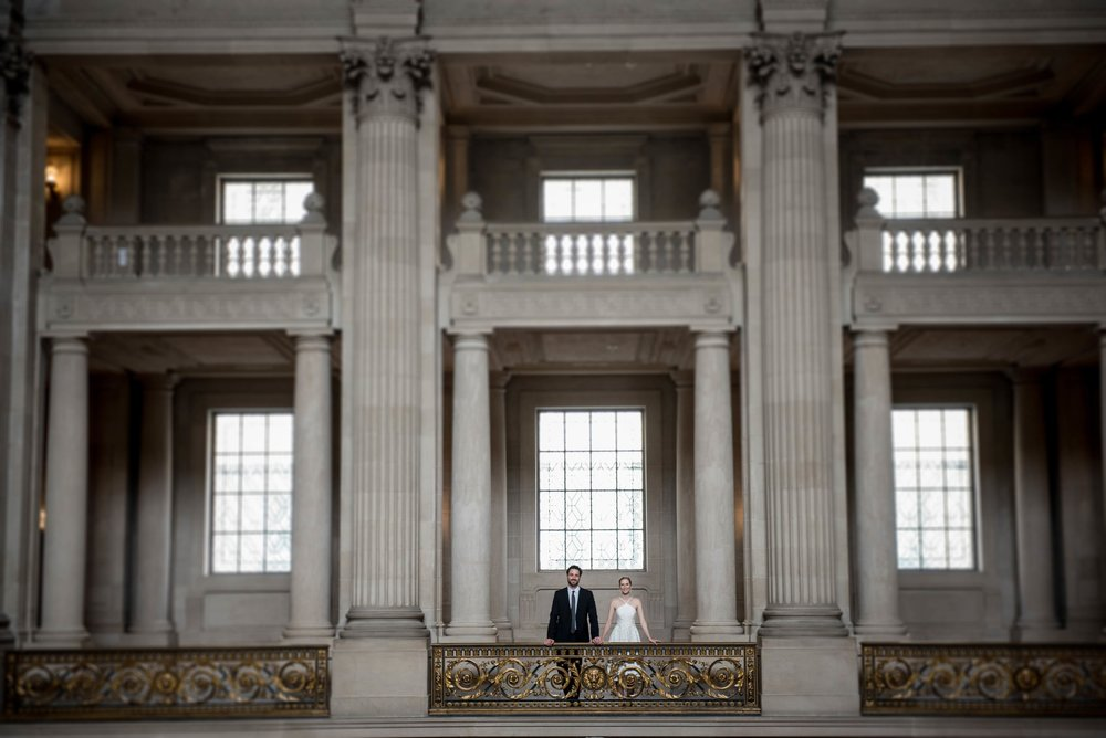 Amalia & Justin  - Wedding: City Hall, San Francisco CA