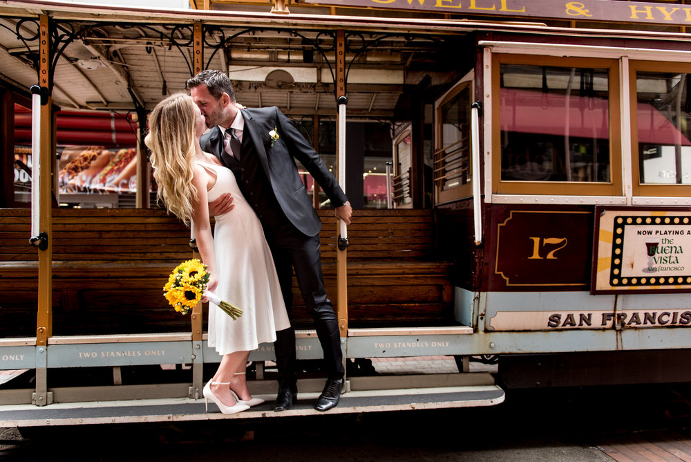 Taylor & Romuald  - Wedding: City Hall, San Francisco CA