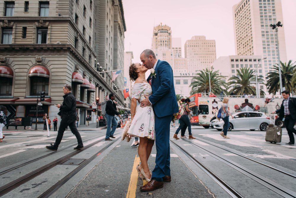 Dominica & John  - Wedding: City Hall, San Francisco CA