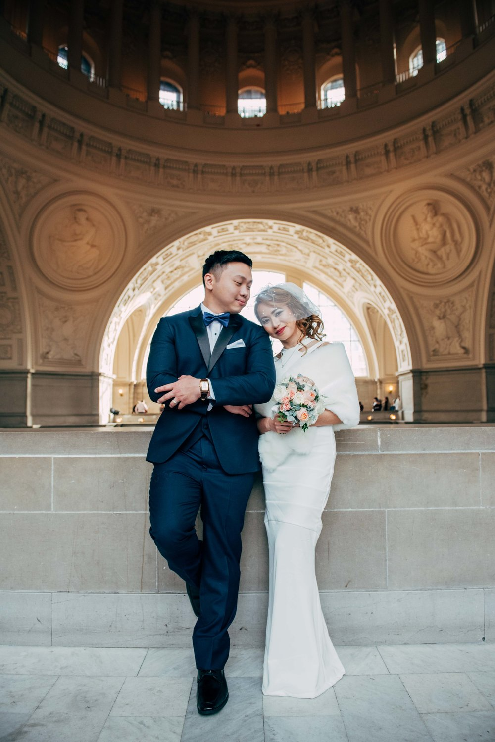 Johanna & Jeric    - Wedding: City Hall, San Francisco CA