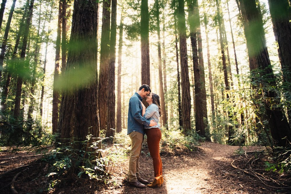 Mary Rose & Ryan  - Engagement: Redwood Park, Oakland CA