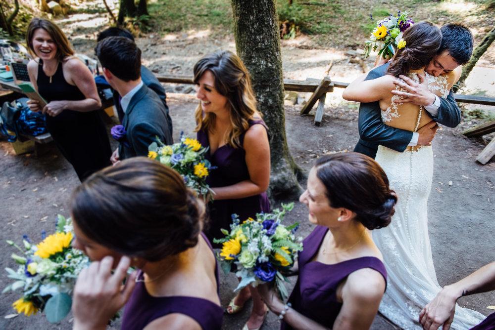 Lindsay & Adam - Wedding: Armstrong Woods, Gurneville CA