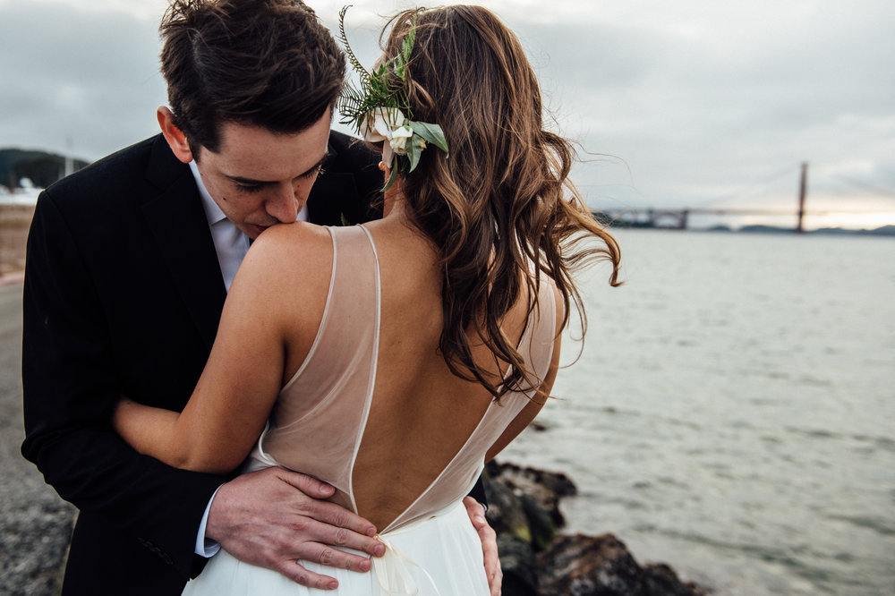 Mary Rose & Ryan  - Wedding: City Hall & Golden Gate Yacht Club, San Francisco CA