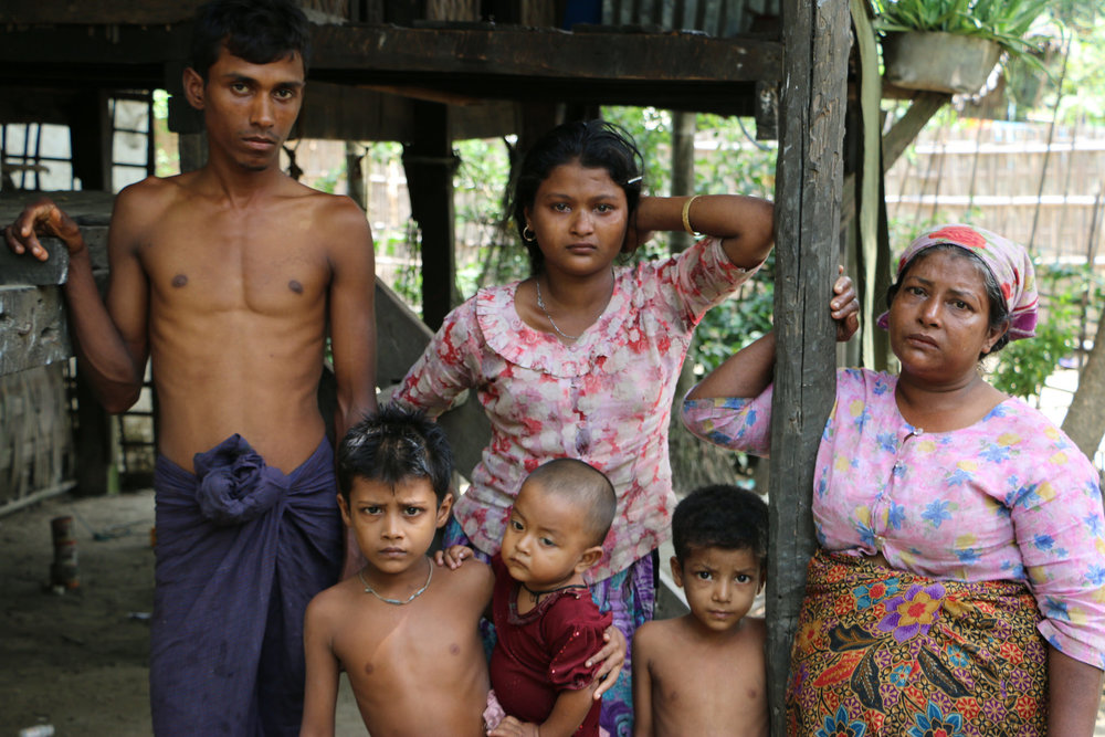 Rohingya Muslims have been robbed of their citizenship and identity. In the country's 2014 census, they were not permitted to self-identify as Rohingya.  Credit:  United to End Genocide