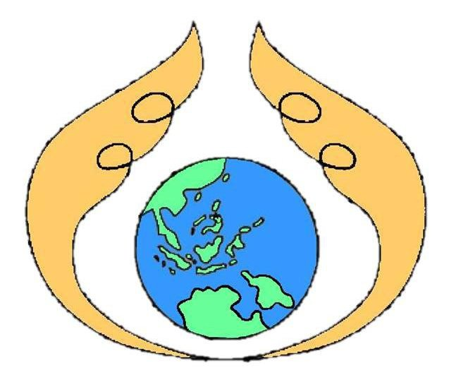 The Peacemaker's Circle logo, designed by Dr. Guingona-Africa.