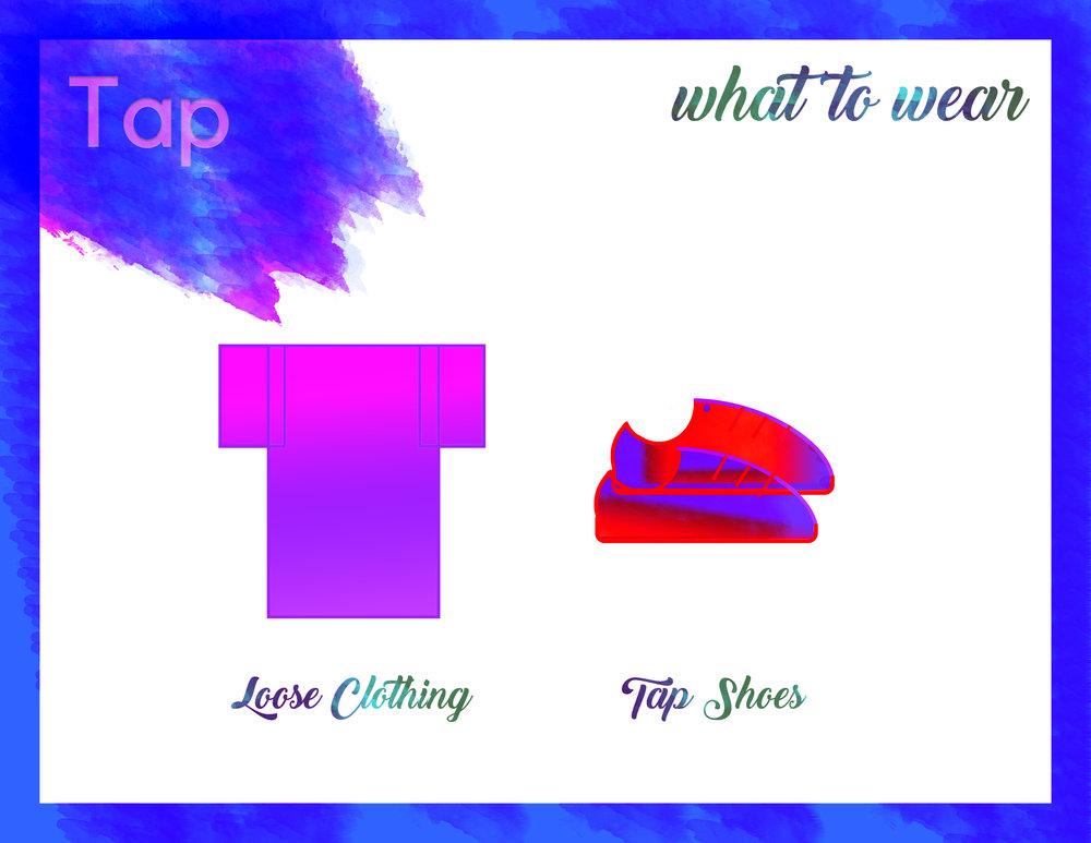 Tap - Loose clothingTap shoes