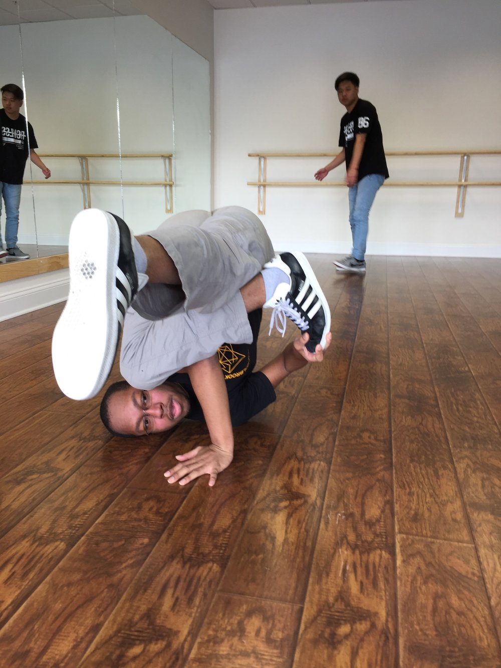 Breakdancing Seminar at Misako Beats