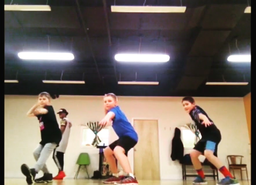 Boys Hip Hop Class at Misako Beats