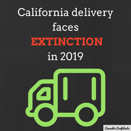 California delivery faces extinction in 2019