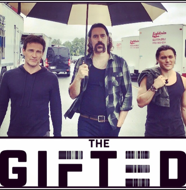 THE GIFTED with Stephen Moyer and Blair Redford.
