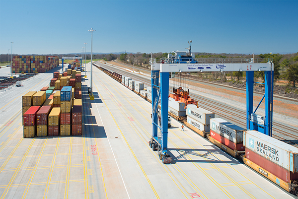 Intermodal fully operational soon after construction.jpg