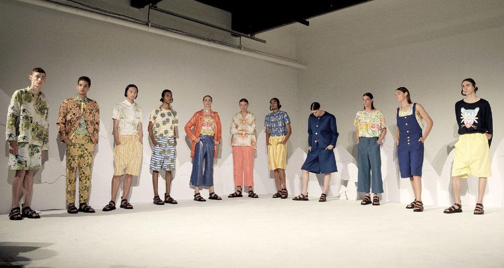 AmeriChina亲临纽约时装周2016SS Edmund Ooi与Boyswear秀场