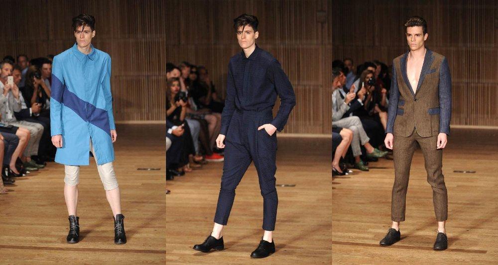 AmeriChina亲临纽约时装周2016SS Loris Diran秀场