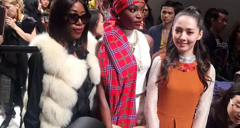 AmeriChina特邀嘉宾郭碧婷与客户亲临巴黎时装周2016SS Dior秀场