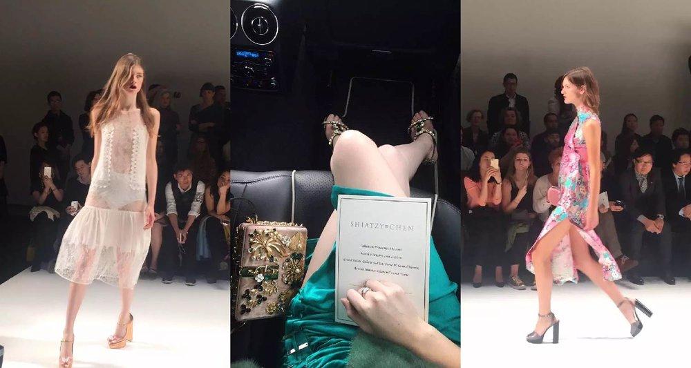 AmeriChina邀请客户亲临巴黎时装周2016SS Shiazty Chen秀场