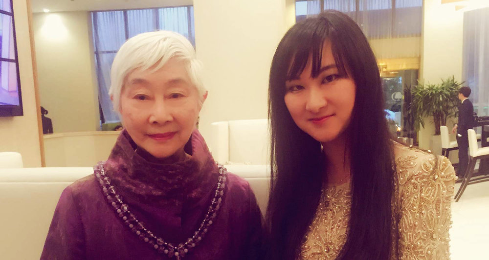 Founder of AmeriChina with Producer Lisa Lu