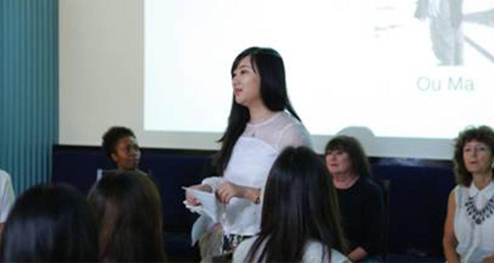 AmeriChina CEO—Margaret Yang女士对本次活动发表开场介绍及祝词