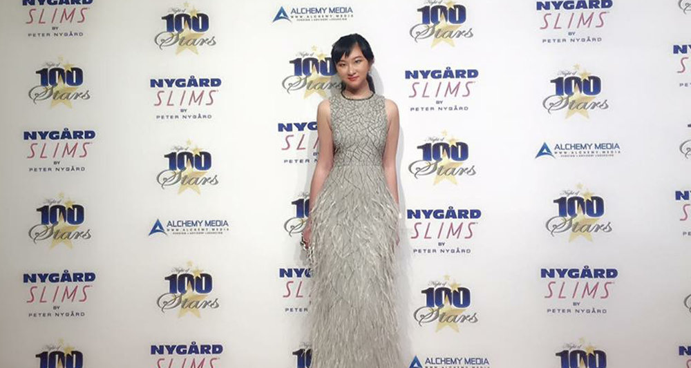 AmeriChina创始人于Night of 100 Stars派对