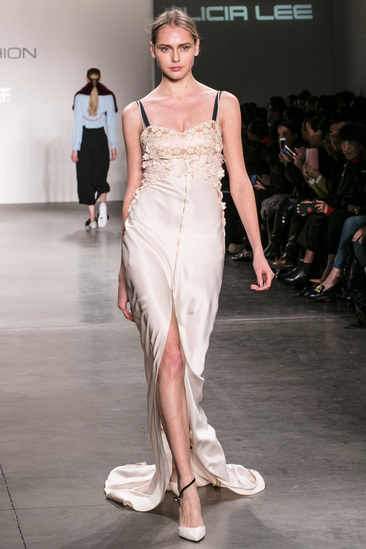 京东时尚纽约时装周首秀-设计师 Alicia Lee 作品