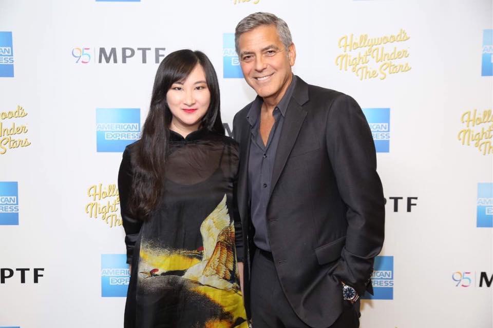 创始人 Margaret Yang参加2016 奥斯卡颁奖礼观摩派对Night of 100 stars