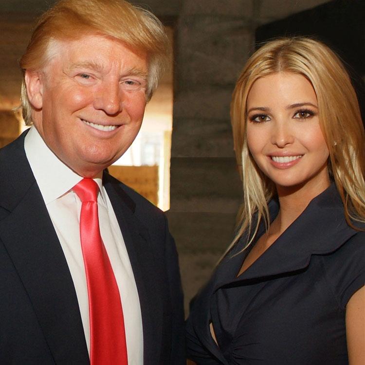 Donald Trump及Ivanka Trump见面会