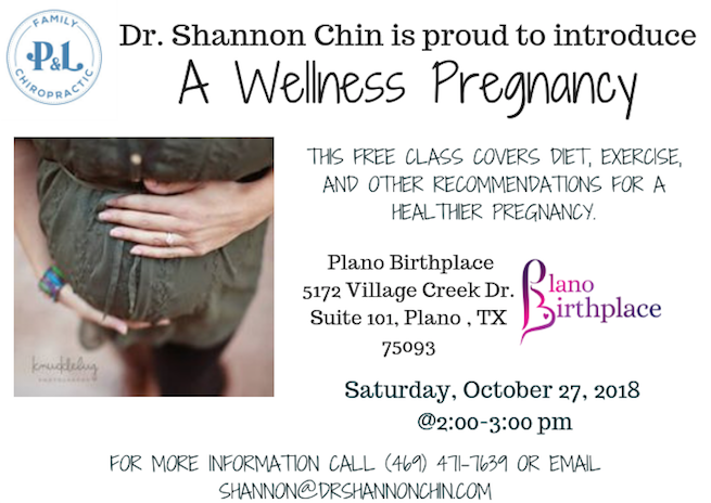 healthier pregnancy class in Plano Texas