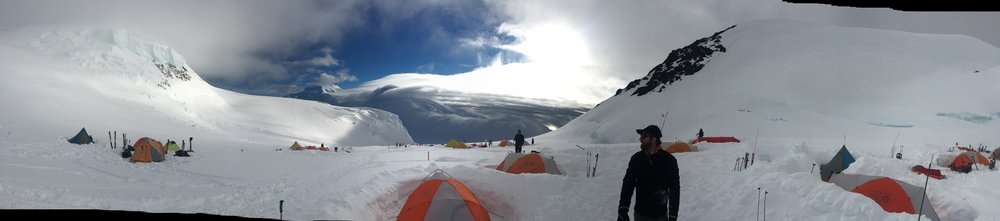 14,000 ft Camp on Denali