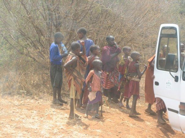 Alina's trip to Tanzania in 2007