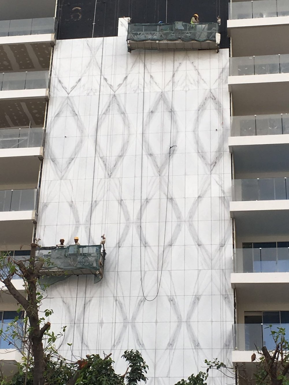 FACADE BUILDING,DOHA  CALACATTA LINCOLN