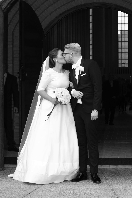 Isabella Stokholm skræddersyet brudekjole gift Nikolaj Stokholm