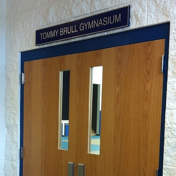 Tommy Brull Gymnasium Dedication     In October of 2015, The Town of Hempstead honored our fundraising efforts with the dedication of the gymnasium at the Malone-Mulhall Recreation Center.  We have raised over $100,000 for this program since 2008.  Tommy, members of our family, and friends grew up working at this one of a kind recreational camp for people with special needs in Lido Beach.