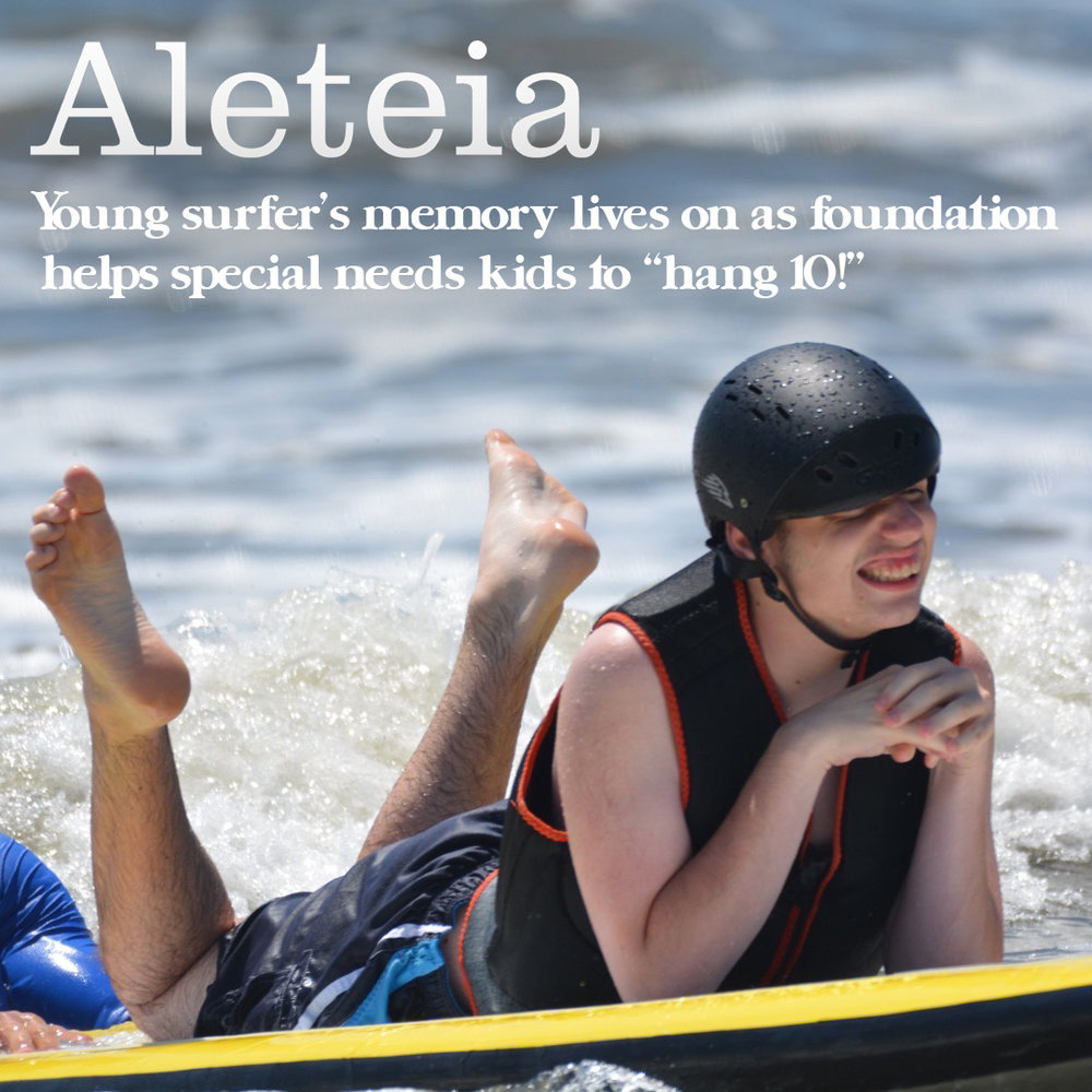Aeteia.com article on Tommy Brull Foundation. Click to read