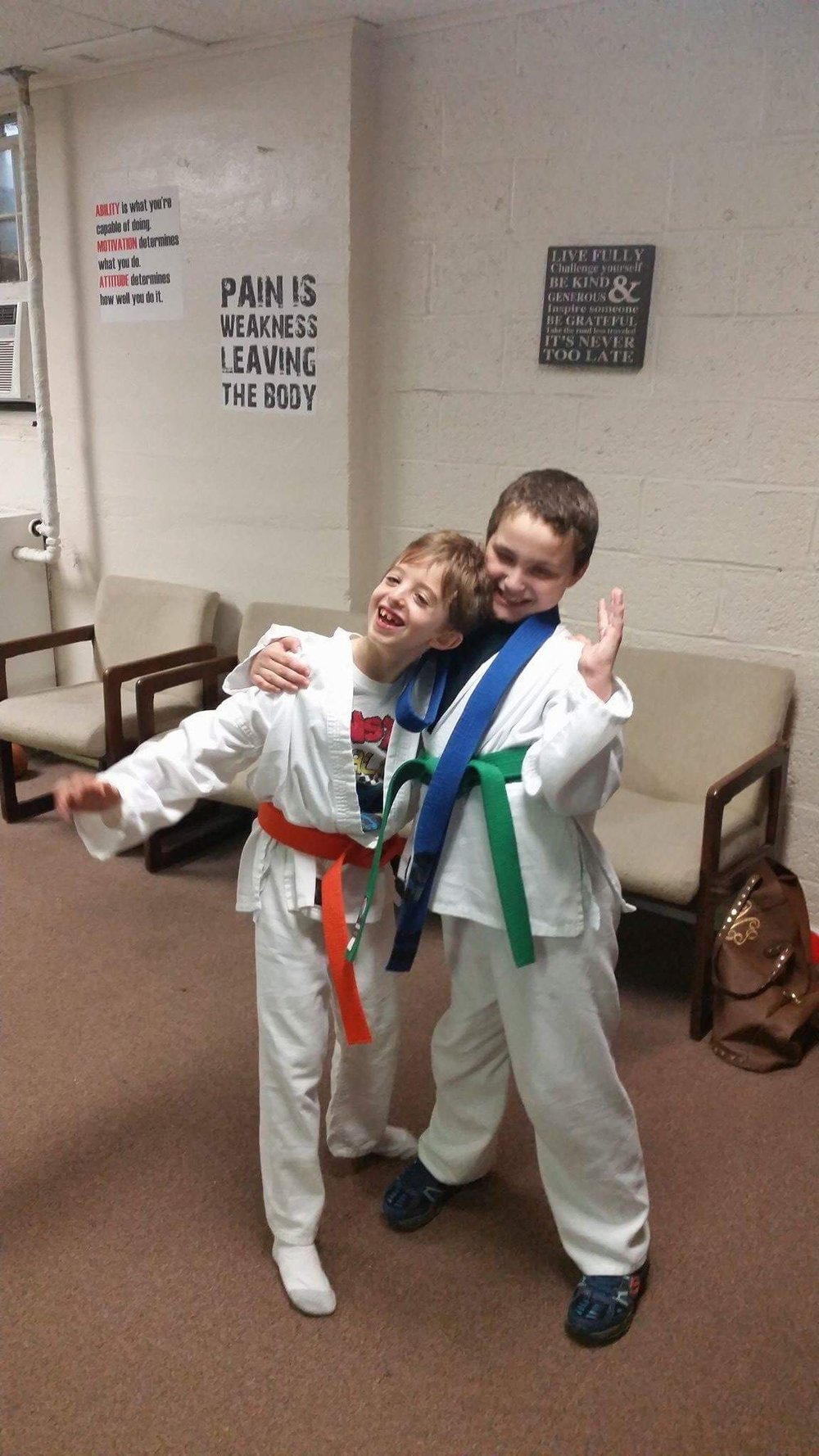 Dragon's Eye Martial Arts- The Tommy Brull Foundation has funded this special needs Karate program located in Rockville Centre NY.
