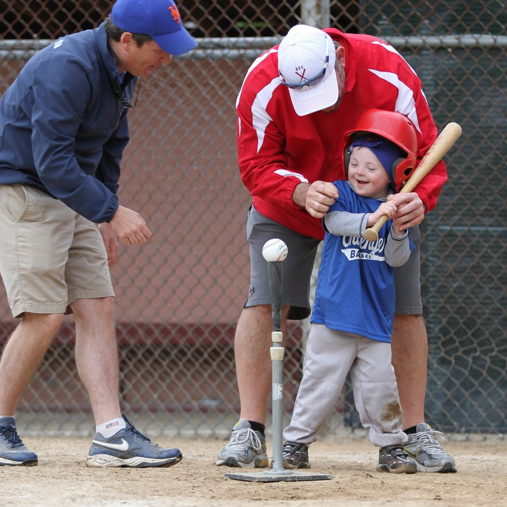 Challenger Baseball League     Each year the Tommy Brull Foundation donates funds to this incredible inclusive baseball program. Typical children are paired with special needs children in a unique buddy program to teach the American tradition of baseball.
