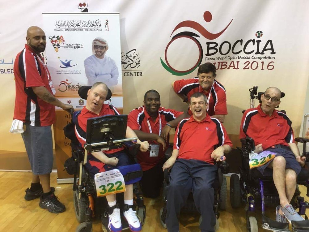 Nassau Thunderbolt Adaptive Bocce Team  -   Funded uniforms and travel expenses for this amazing adaptive bocce team that travels to compete in tournaments across the nation.
