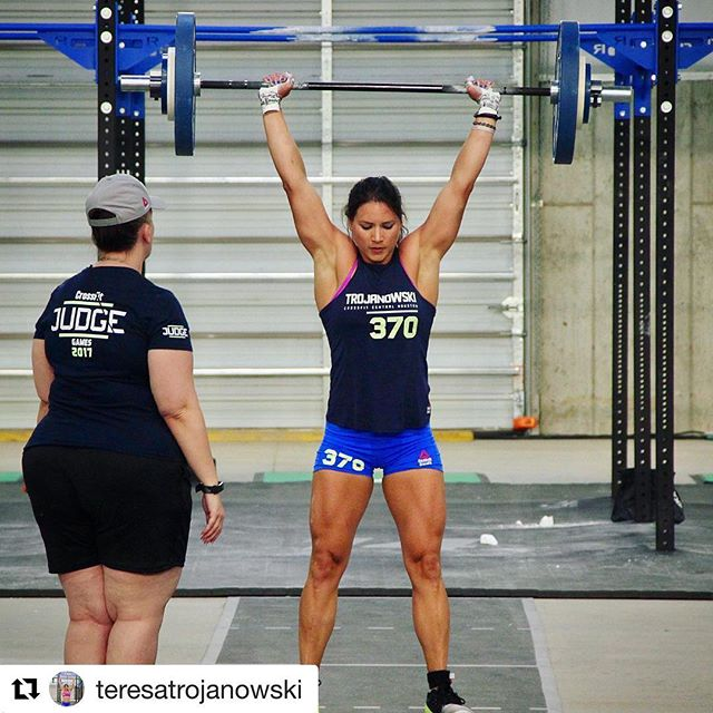 Who else can't wait to watch @teresatrojanowski at the CF Games?!? We are a little less than a month out!  #Repost @teresatrojanowski with @get_repost ・・・ Hard work doesn't guarantee success....but it sure does improve your odds... - Less than a month out from the @crossfitgames and ready to keep working hard.  #crossfitgames #crossfit #roadtomadison #workhard . . 📸: @carlybeee @competeeveryday @american_gainz @vitalkitchenco @wodreadyfit @movementvault @wodwelder @reconrings @compidhouston @competeelitehq @de_motu @2010labs