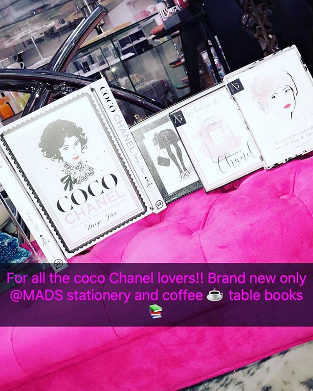 """""""In order to be irreplaceable one must always be different"""" ~ Coco Chanel... all brand new Chanel items get yours now @modernartdesignstudio #mads"""