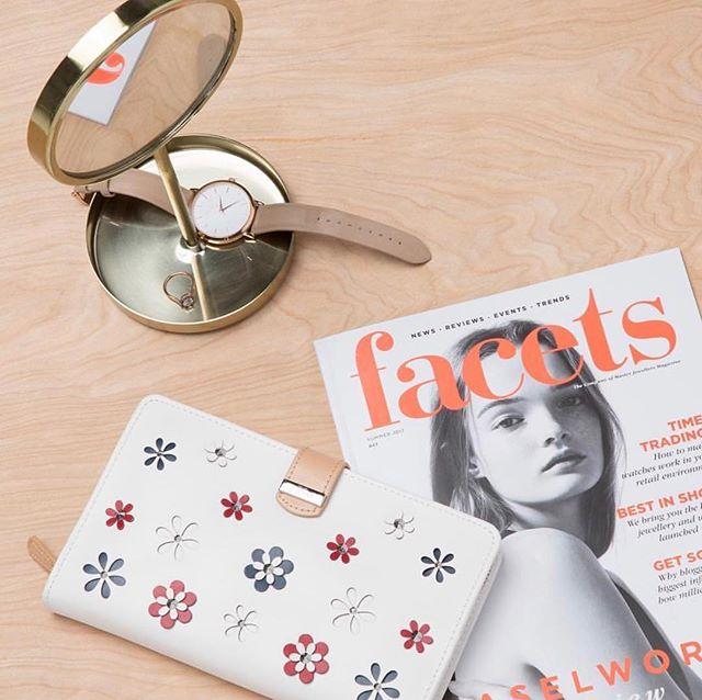 White floral jewelry portfolio...#wolf1834#jewelry#jewelryportfolio #MADS