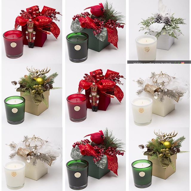 Come in today for these beautiful holiday scented candles.  Ornate boxes included! #MADS#luxfragrance#luxfragranceexperience#secretsanta#holidaygifts#holidaycandles