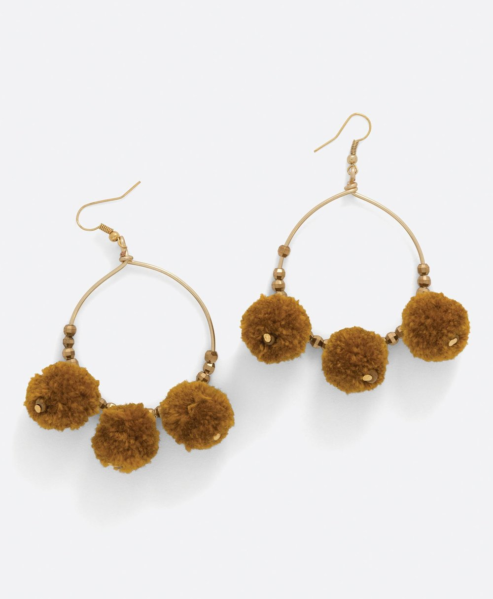 Noonday Collection Marigold Hoops