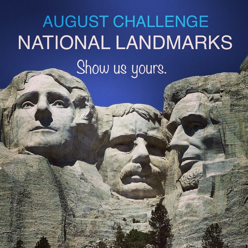Scott Kupec of Pennsylvania had the first correct answer of President Washington to the WHO'S MISSING? at Mount Rushmore 8/10 Discover AMERICA pOp uP CHALLENGE.